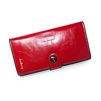 Женский кошелекна магните Baellerry красный, фото 1