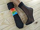Носки женские капроновые с массажной стопой чёрные НК-277, фото 3