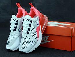 Женские кроссовки Nike Air Max 270 White Pink