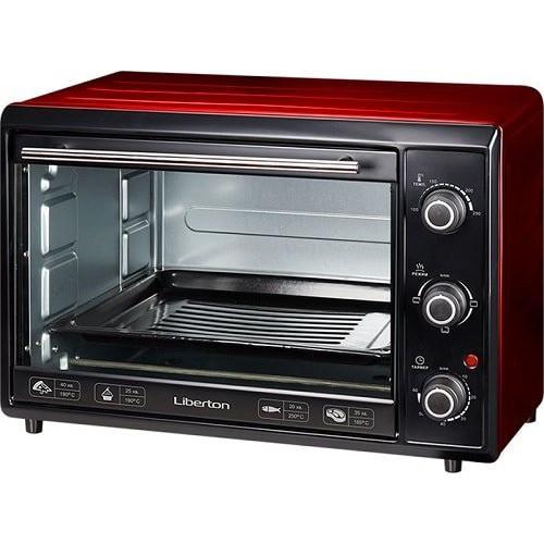 Электродуховка LIBERTON LEO-400 Red (40л)