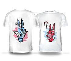 Парні футболки для сім'ї
