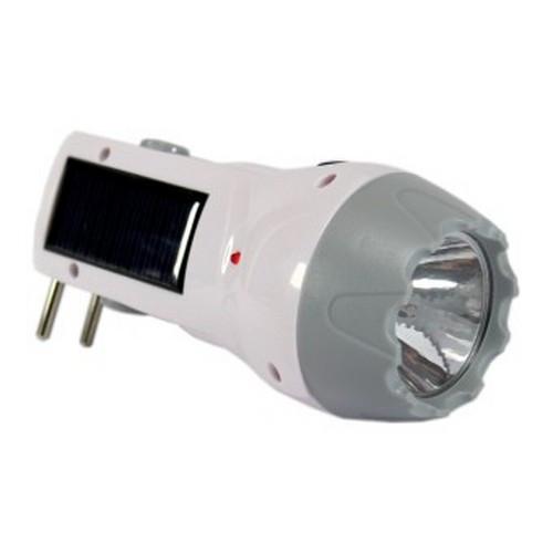 Компактний Ліхтарик з сонячною панеллю GD 653 solar