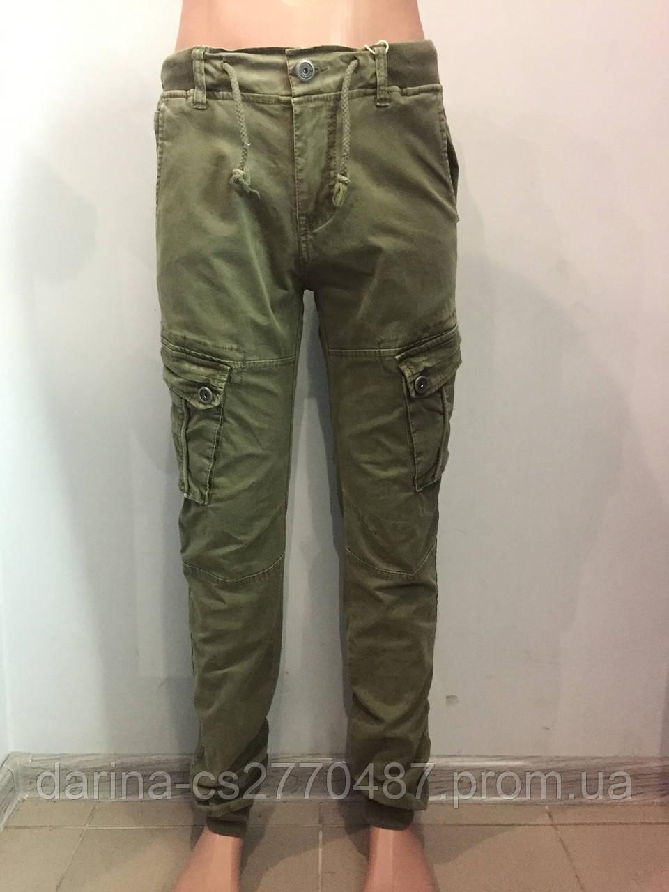 Модные котоновые брюки для мальчика 140,146,152 см