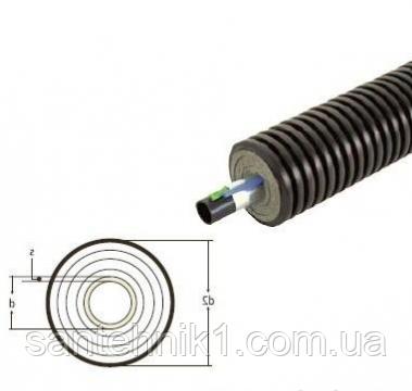 Труба теплоизолированная Uponor Ecoflex Supra PLUS 40x3,7 /90 1x10 Вт/м, фото 2