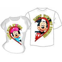 Парные футболки с надписями для влюбленных