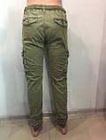 Модные котоновые брюки для мальчика 146 см, фото 5