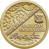 США 1 доллар 2018, Американские инновации: Первый патент