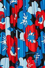Юбка плиссе в цветы, фото 3