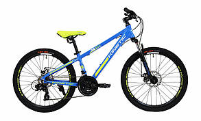 "Велосипед KINETIC 24"" SNIPER  рама 12"" синий"