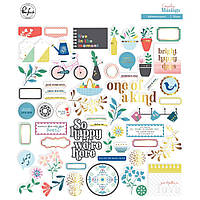 Висічки - Everyday Musings - Pinkfresh Studio - 56 шт.
