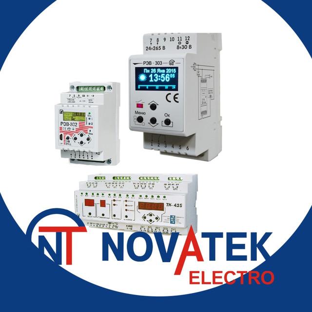 Реле контроля, защиты и управления Новатек-электро