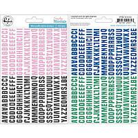 Алфавіт паф - Everyday Musings - Pinkfresh Studio - 1 см.