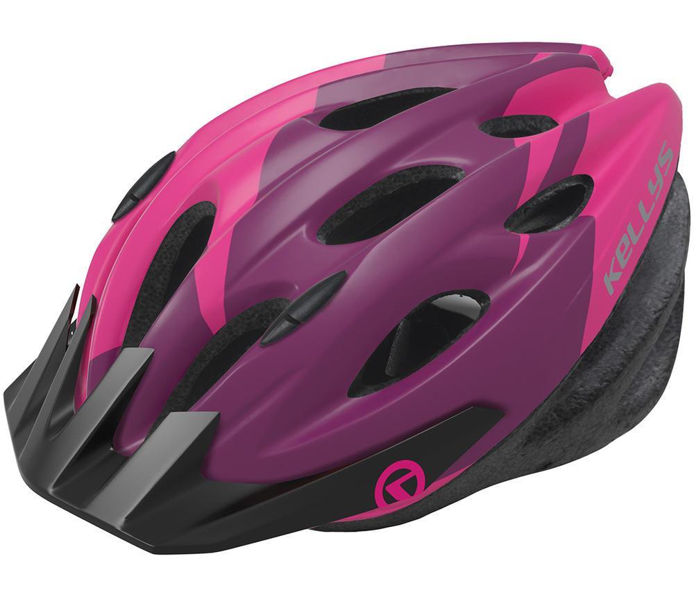 Шолом велосипедний KLS Blaze 018 M-L Pink Violet