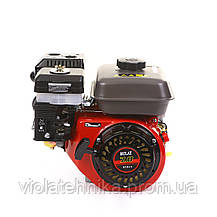 Двигатель бензиновый BULAT BW170F-T/25 (для BT1100) шлицы 25 мм, 7 л.с., фото 2