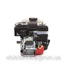 Двигатель бензиновый BULAT BW170F-T/25 (для BT1100) шлицы 25 мм, 7 л.с., фото 3