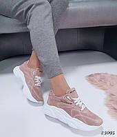 Женские кроссовки Balenciaga Баленсиага натуральная  кожа (реплика), фото 1