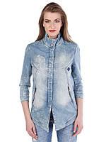 Куртка женская джинсовая классическая L Cipo&Baxx
