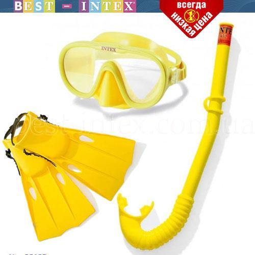 Набор для плавания Intex 55655 (р-р 35-39) 8-12 лет