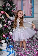 Нарядное детское платье с пышной юбкой, фото 1