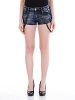 Шорты джинсовые женские с подтяжками W30 Cipo&Baxx