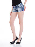 Шорты джинсовые женские классические W26 Cipo&Baxx