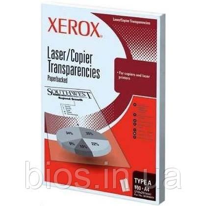 "Плівка ""XEROX"" A4 100арк Plain Transparency"