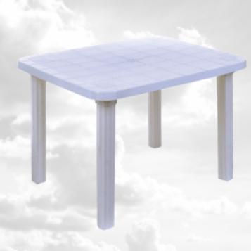 Стіл прямокутний пластиковий, 700х800х1000