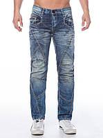 Джинсы мужские со строчками винтажные W29L32 Cipo&Baxx