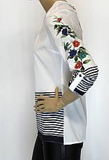 Нарядна шифонова блузка, фото 3