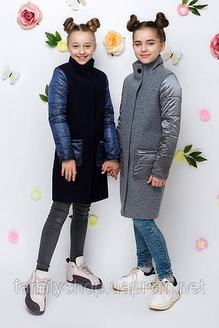 Весеннее кашемировое пальто на девочку , фото 2