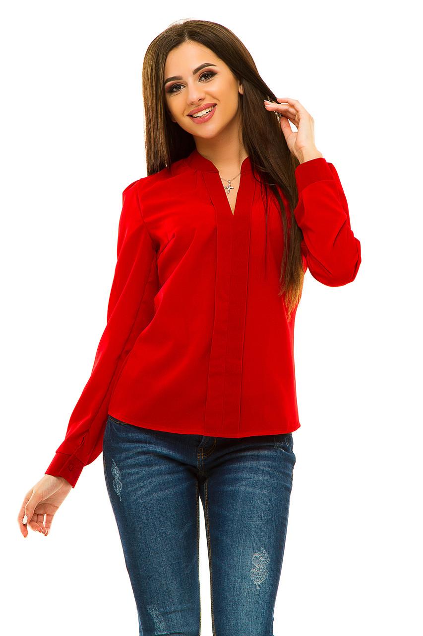 Блузка 233 красная