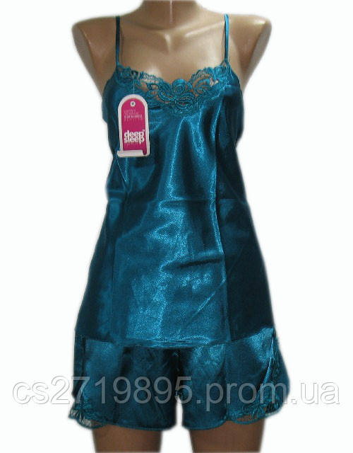 Комплект женский 12013 шелк майка+шорты DEEP SLEEP
