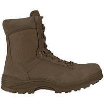 Ботинки тактические MIL-TEC с застежкой-молнией демисезон коричневые, фото 2