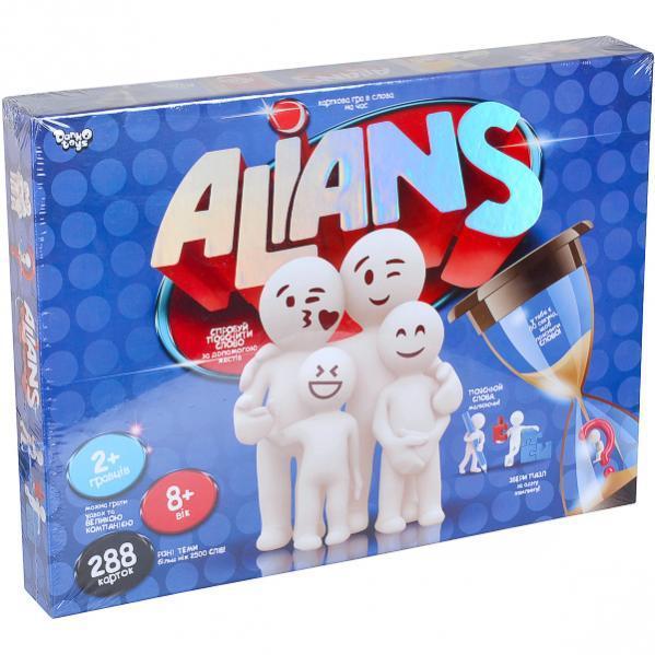 Настільна розважальна гра «ALIANS» укр
