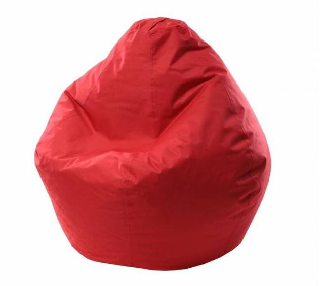 Кресло Груша красное