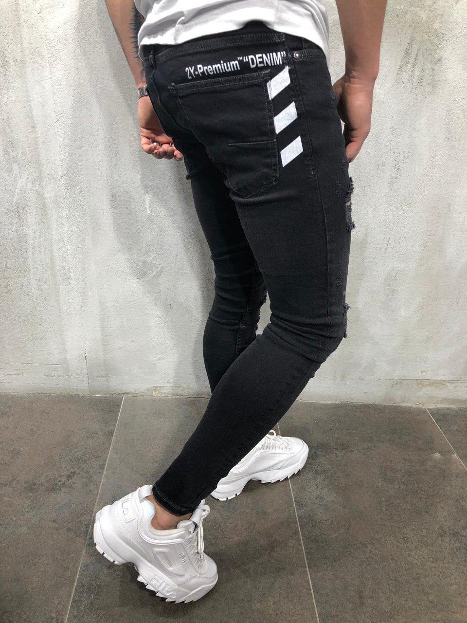 8f8ec096fd9 Мужские джинсы зауженные 2Y Premium