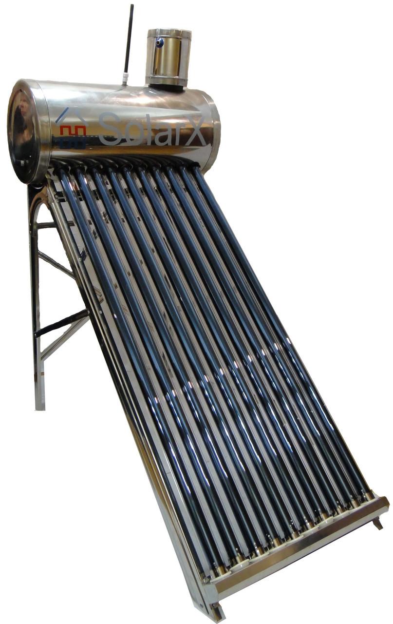 SolarX SXQG-250L-25 вакуумный солнечный коллектор безнапорный водонагреватель термосифонный на 25 трубок