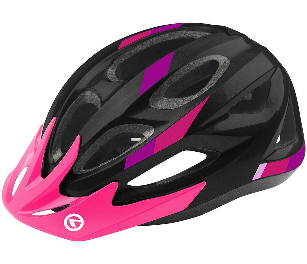 Шолом велосипедний KLS JESTER S-M Black Pink, фото 2
