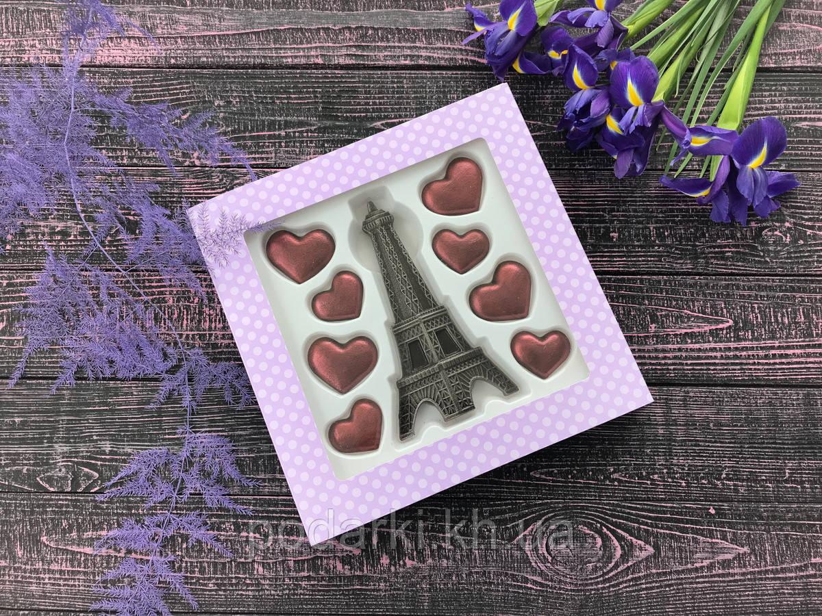 Шоколадная композиция Париж для девушки