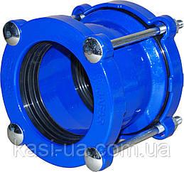 Муфта соединительная для стальных и чугунных труб тип 9151 JAFAR, чугун GGG50, DN 50 Dz 57-74