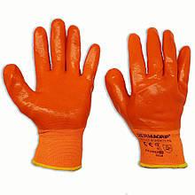Перчатки рабочие Dermagrip силиконовые, № 10, уп. — 12 пар