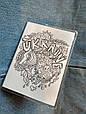 ПВХ обложка на паспорт ручной работы Антистресс, фото 2