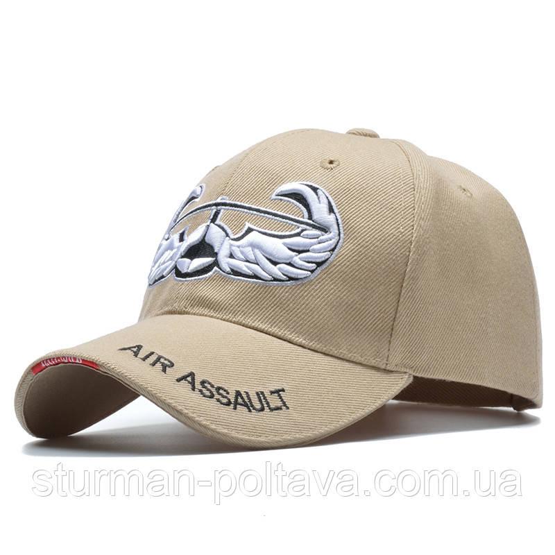 Бейс болка бежевая  с логотипом ВВС Авиация