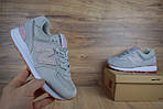 Женские кроссовки New Balance 574 серо-сиреневые + белая N, фото 10
