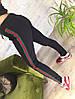 Штаны женские спортивные весна-осень 044 (S M L) (цвет черный) СП