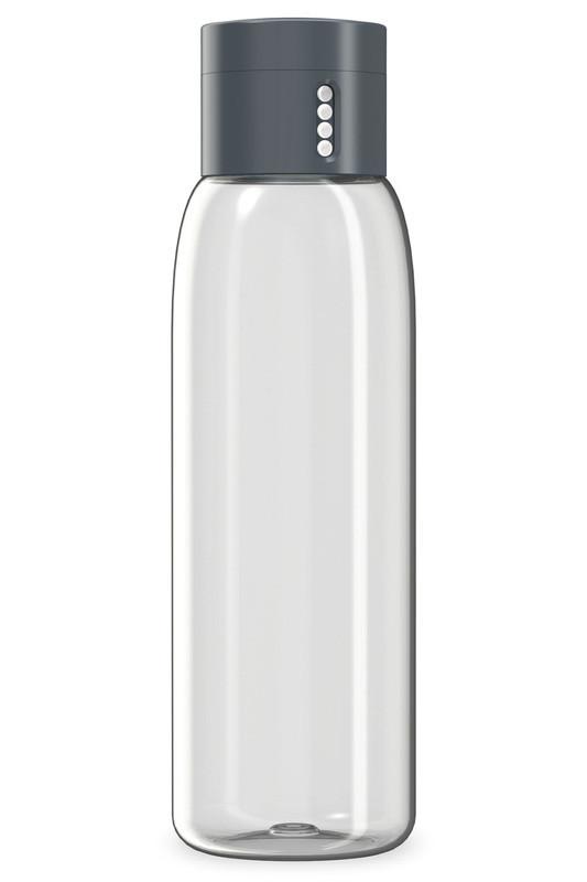 Пляшка для води Joseph Joseph з індикатором 600 мл сіра 81053