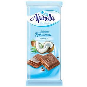 Шоколад Alpinella Kokosowa
