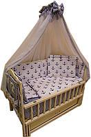 """Комплект постельного белья """"Baby 14 элементов морячок"""" , фото 1"""