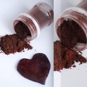 Краситель  сухой пищевой темно коричневый  50 г Индия