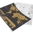Скретч карта мира, 30*42 см, фото 4
